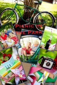 Stylized Vintage Picnic in the Park Photo-shoot